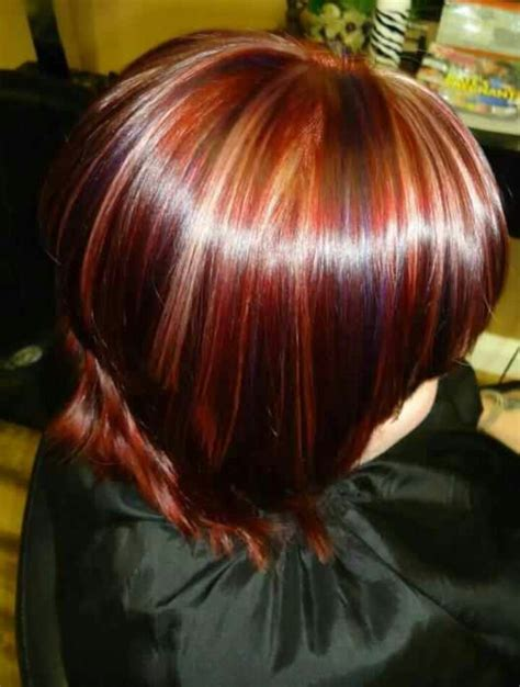 puple with blonde highlights red blonde purple highlights my hair portfolio