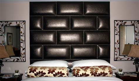 leather headboards toronto leather nail upholstered wall panelled headboard