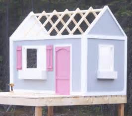 Diy Playhouse Plans Ana White Playhouse Roof Diy Projects