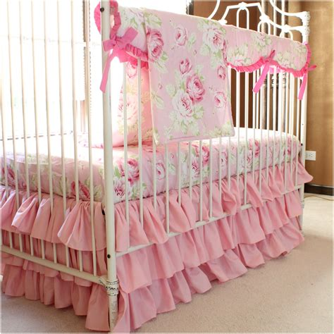 Baby Girl Shabby Chic Bedding Palmyralibrary Org Vintage Baby Bedding Sets
