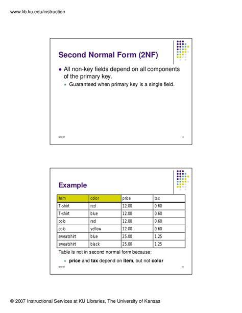 database design normal form database design normalization 1nf 2nf 3nf
