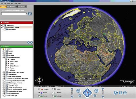 imagenes google earth online google earth or how to find a map of your place on line