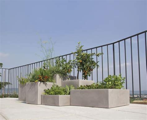 vasi alti da giardino vasi resina da esterno vasi per piante vasi in resina