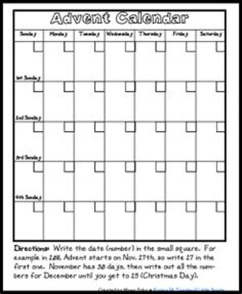 free printable blank advent calendar 1000 images about catholic homeschooling resources on