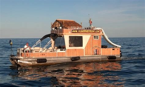 pontoon boat rental chicago island party boat in chicago il groupon