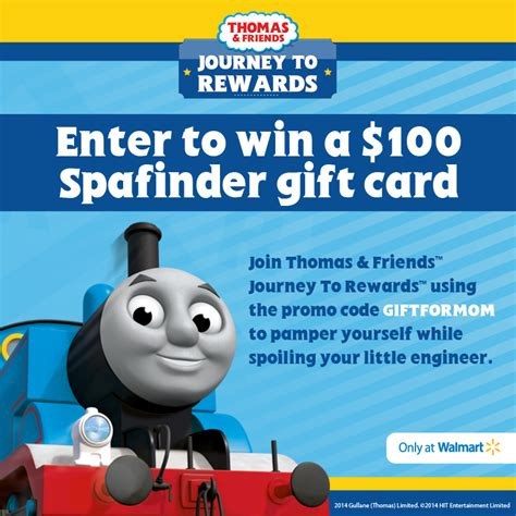 Where To Buy Spa Finder Gift Cards - 100 spa finder gift card giveaway join thomas friends journey to rewards