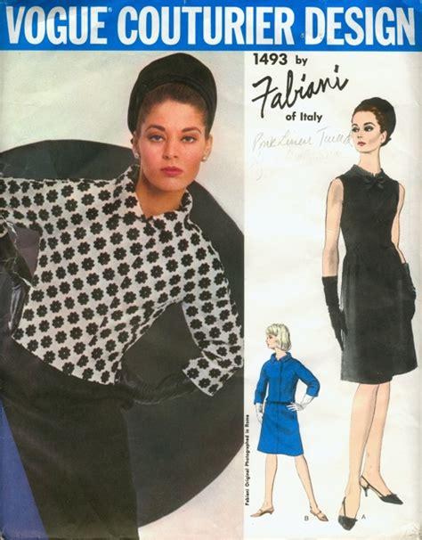 pattern review vogue 1493 vogue 1493 vintage sewing patterns