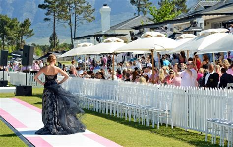 fashion official val de vie news events cintron pink polo powered by vodacom hosted at val de vie