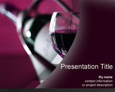 powerpoint templates free wine grapes powerpoint