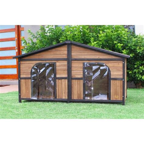 dog house for big dogs brunswick double cedar wooden dog house large dogs buy wood dog houses