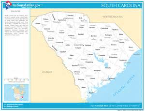 south carolina state maps interactive south carolina