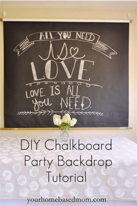why i love my chalkboard wall simply kierste design co chalkboard party backdrop