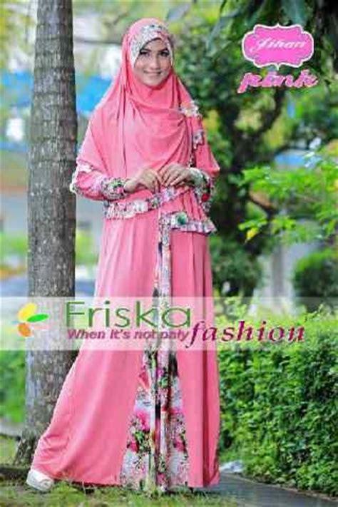 Santika Syari jihan syar i by friska pink baju muslim gamis modern