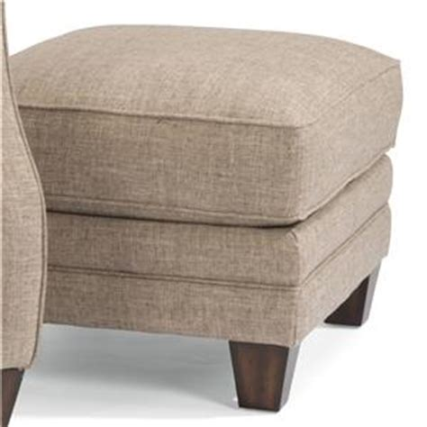Lenox Sofa by Flexsteel Lenox Transitional Sofa With Scalloped Arms