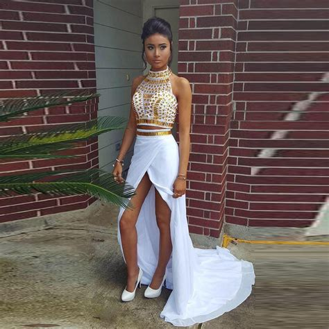 Uwais Amora Dress Gold 1 white and gold prom dresses www imgkid the