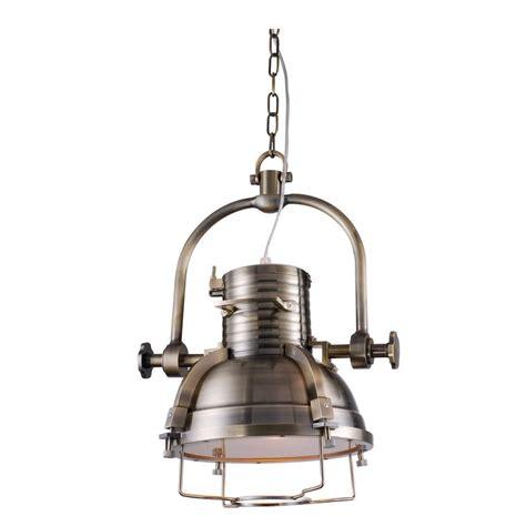 industrial pendant lighting home depot lighting industrial 1 light antique brass pendant