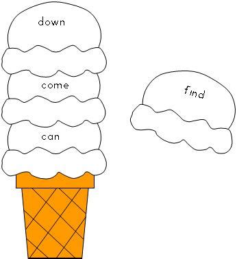 printable ice cream word games fun learning printables for kids