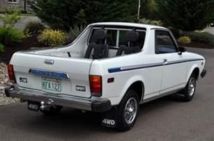 Subaru Brat For Sale Ebay Funky Fresh Pristine 1979 Subaru Brat Bring A Trailer
