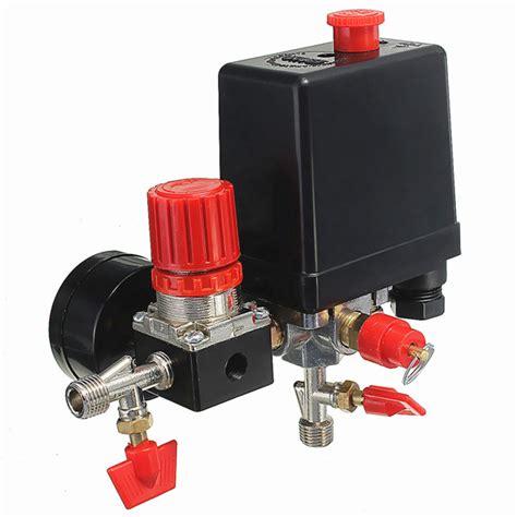 air compressor pressure valve 180psi gauges regulator switch alexnld