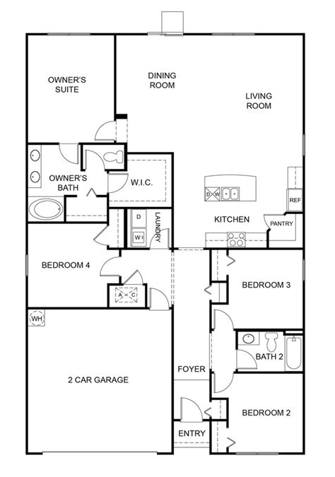 dr horton floor plans dr horton floorplans