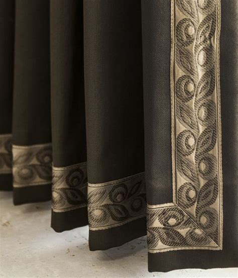 Decorative Trim For Curtains Wide Are Borders For Drapery Panels Serenity Collection By Brimar Brimar Trim