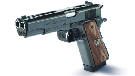 American Rifleman   A Double Barreled 1911: The AF2011 A1