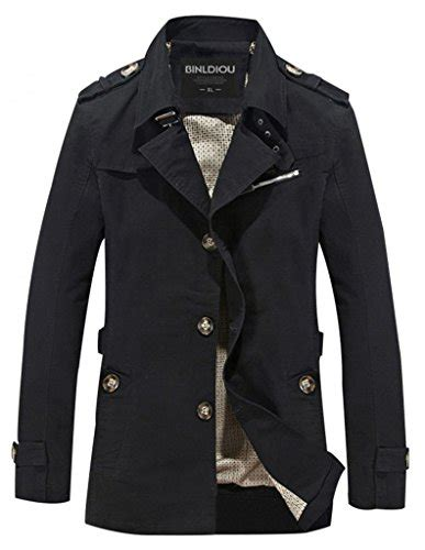 Jacket Casual Cloudy cloudy arch s casual jacket light trench coat black us