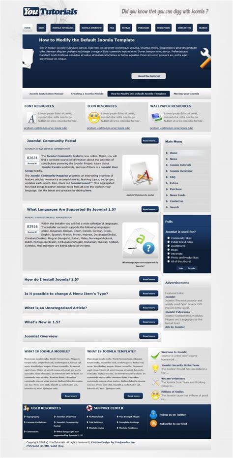 templates para blogger joomla yoututorials joomla blogger
