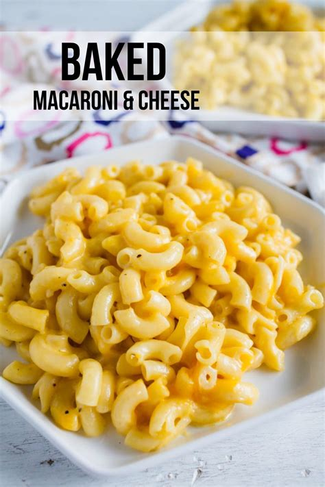 Mac And by Easy Baked Macaroni And Cheese