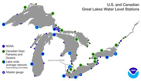 map of the five great lakes in the united states us map 5 great lakes