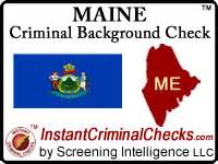 Criminal Record Check Maine Maine Criminal Background Checks For Pre Employment
