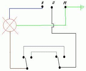 accensione di una lada da due punti accendere la luce da due punti deviata www ideepercaso it