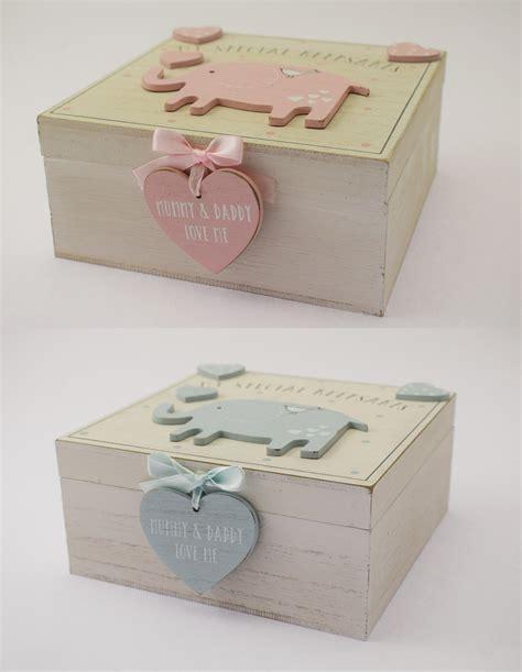 Baby Shower Memory Box by New Baby Boy Wooden Memories Keepsake Memory Box