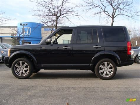 black land rover lr3 2009 santorini black metallic land rover lr3 hse 57823552