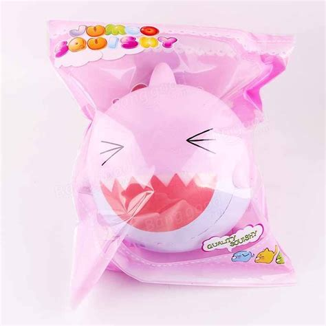 Promo Jumbo Lemon Squishy By Sanqi Elan sanqi elan squishy pink shark 15cm jumbo rising soft with packaging collection gift decor