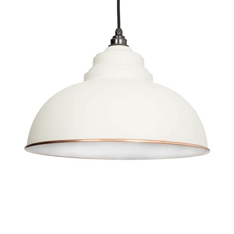 White Light Pendant Oatmeal White Harborne Pendant Light Period Home Style