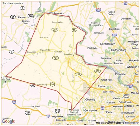 Loudon County Property Records Relocation Loudoun County Map