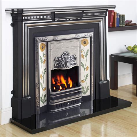 Fireplaces Limerick by Cast Tec Limerick Cast Iron Fireplace Flames Co Uk