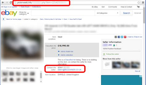 ebay ad template fraudsters modify ebay listings with javascript redirects