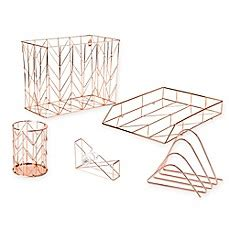 Wire Desk Accessories Copper Wire Desk Accessories Bed Bath Beyond