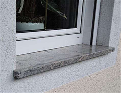 fensterbank außen stein einbauen marmor granit natursteine fandl fensterb 228 nke