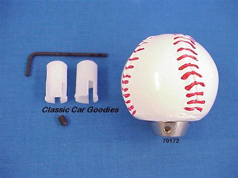Baseball Shift Knob by Shift Knob Baseball