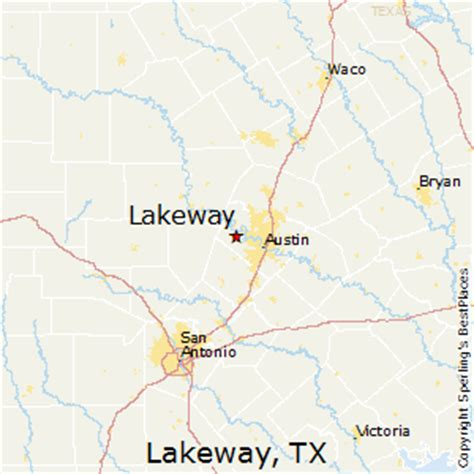 lakeway texas map best places to live in lakeway texas