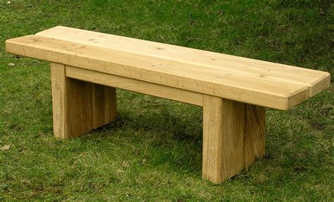 oak garden benches zen oak garden bench bespoke oak dining bench