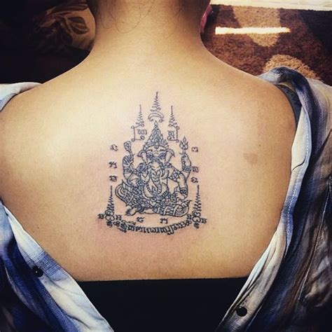 ganesh yantra tattoo 208 best sak yant images on pinterest sak yant tattoo