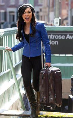 Boot Santana Kulit fashion bintang glee cocok untuk aktivitas di kus