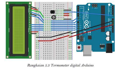 Termometer Digital Di Bandung sensor suhu dengan lcd adi sanjaya global techno