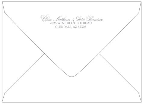return address etiquette for wedding invitations better way to do return addresses wedding invitations