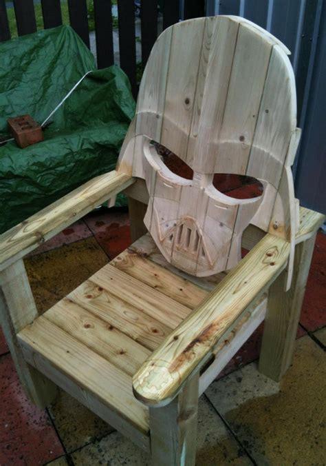faceful  ass darth vader patio chair