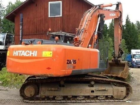 hitachi zx    zaxis workshop service manual crawler